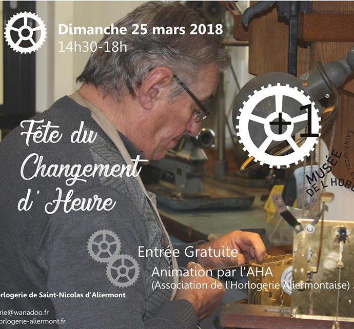Fête du changement d'Heure – St Nicolas d'Aliermont